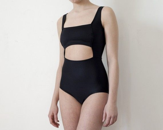 Rectangle Cut Out Bather by MinnowBathers on Etsy, $135.00