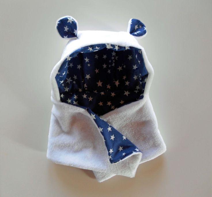 Bonnet d'ourson cache-col écharpe taille 12-24 mois - Bébé la tête au chaud