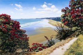 Orewa Beach -- Janet Bothner-By