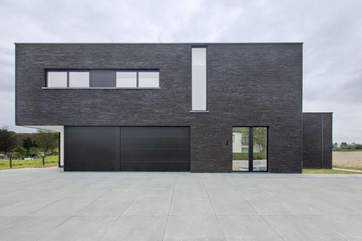 Moderne woning met kantoorruimte, 1745 OPWIJK - Architectenkantoor: Architectenbureau aabbeele - Fotograaf: Christophe Van Couteren