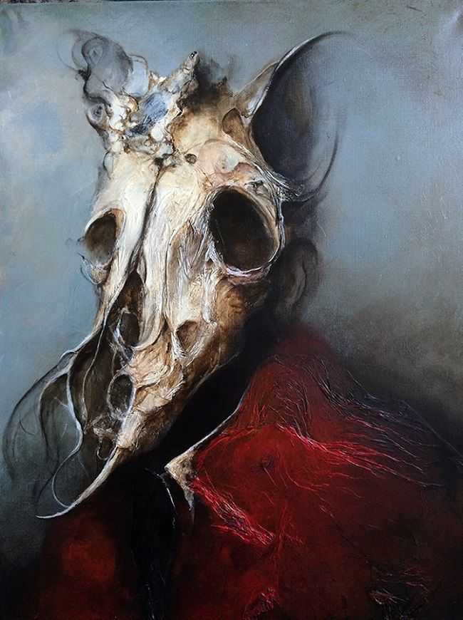 Welcome to the darkness of Eric Lacombe. Visit the #beautifulbizarre website and discover more of his surreal and haunting work > https://beautifulbizarre.net/2015/07/09/eric-lacombe-life-is-a-monster/
