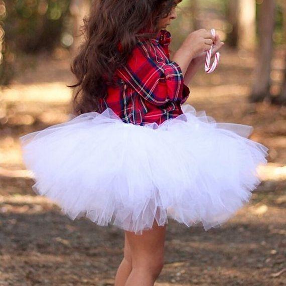 PICK YOUR COLORS! White Tutu Skirt, Tutu Skirt Only, Mommy And Me Tutu, Adult White Tutu, Wedding Tutu, Baby Tutu, Matching Tutus