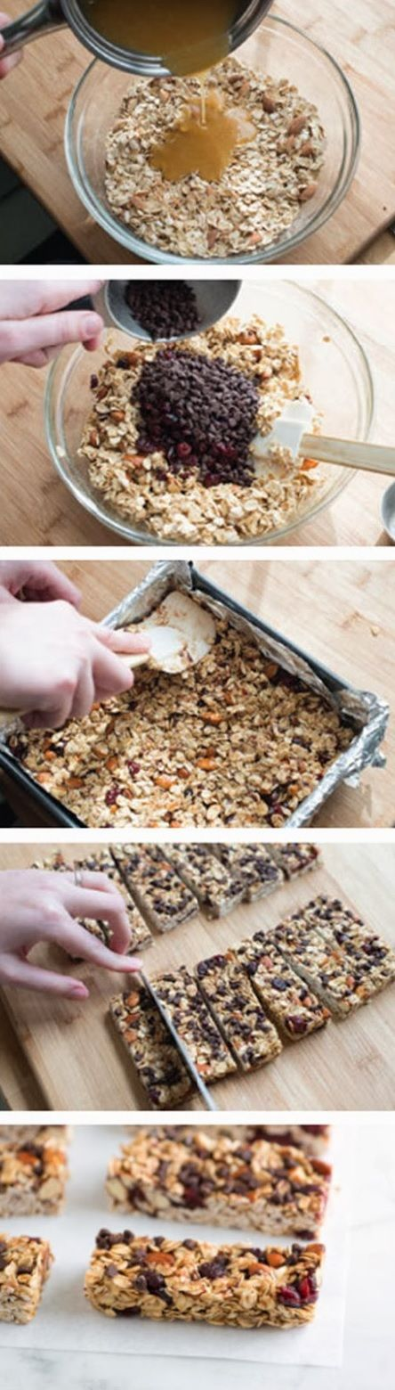 Soft and Chewy Granola Bars