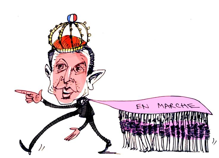 Emmanuel Macron s'exprime devant le Congrès à Versailles, ce lundi 3 juillet. Cette journaliste britannique a observé de près sa présidentialisation et, selon elle, il s'inspire du premier chef d'État français adepte de la communication : Louis XIV.