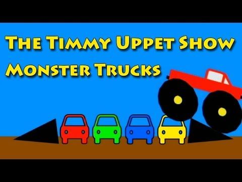 ▶ The Timmy Uppet Show - Monster Truck Videos For Kids - YouTube