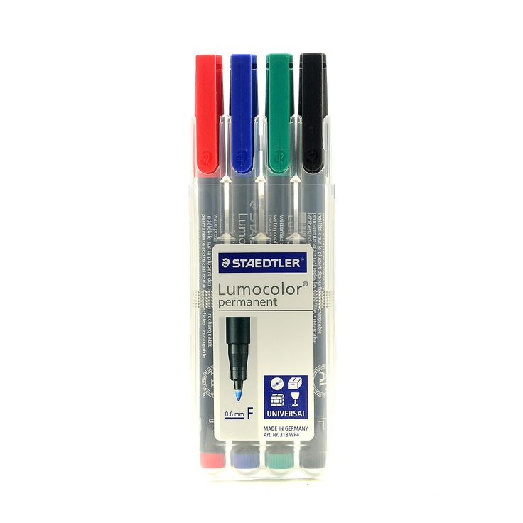 Staedtler Lumocolor Fine-point AV Marker Sets