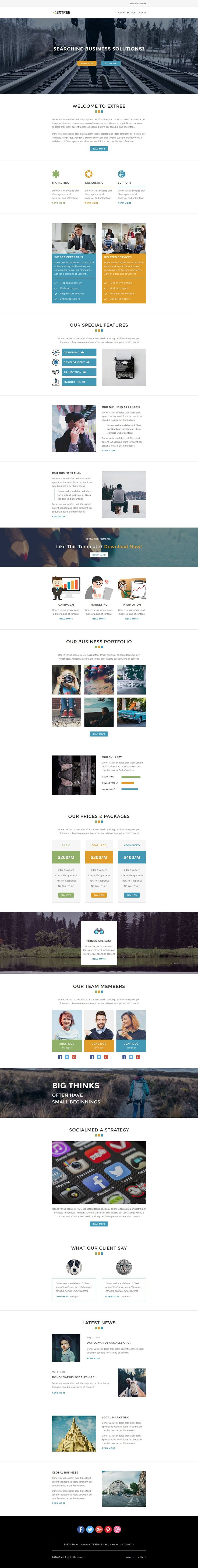 167 best best html email templates images on pinterest email extree multipurpose responsive email template stampready builder pronofoot35fo Images