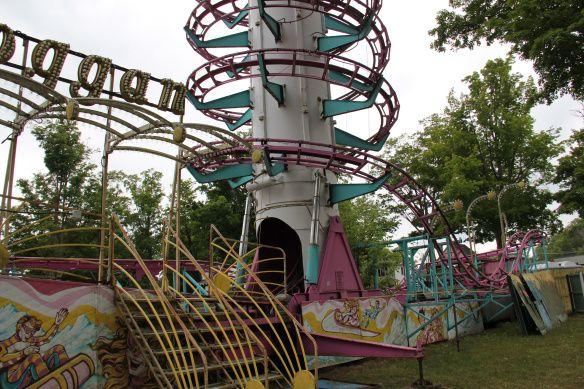 Abandoned Toggan Coaster at Conneaut Lake Park, Pennsylvania