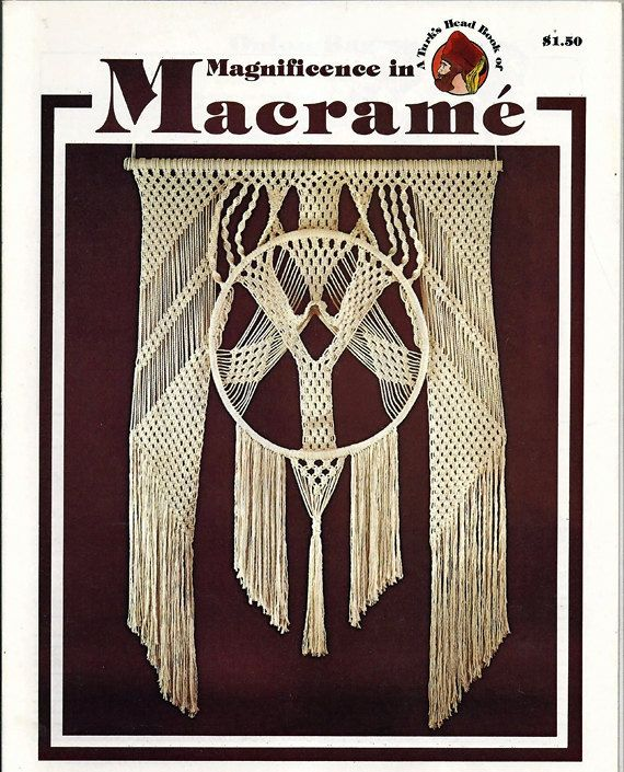 Magnificence in Macrame Pattern Book PP-13 by grammysyarngarden