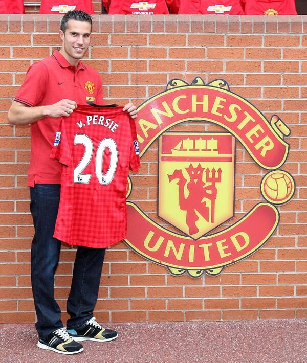 One year on, what an incredible year.. Manchester United striker No. 20: Robin van Persie