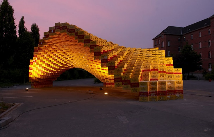 Boxel, architecture students from the University of Applied Sciences based in Detmold.