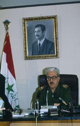 Tariq Aziz, Deputy President of the Republic