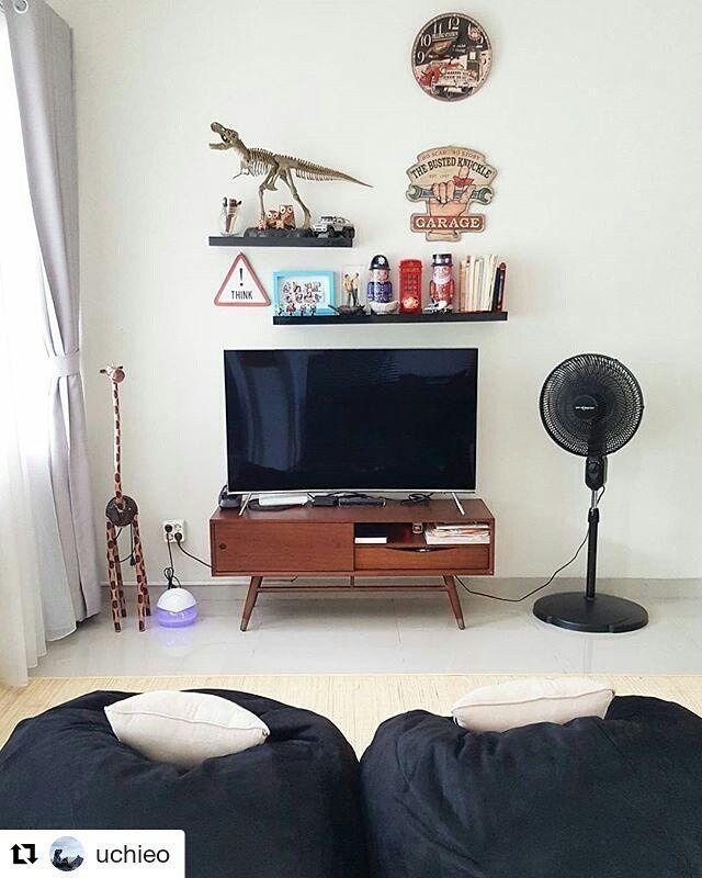 "37 Likes, 3 Comments - BEANBAG MURAH MERIAH! (@andribeanbag) on Instagram: ""#Repost @uchieo (@get_repost) ・・・ Baiti Jannati #dimsrules #simplehomestyle #homeideas…"""