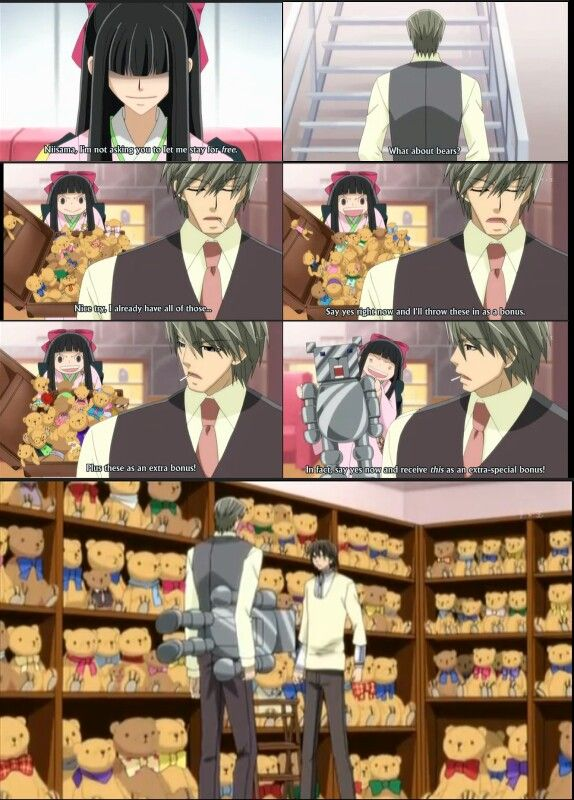 It was an offer he simply could not deny!! (Junjou Romantica)
