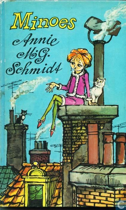 """""""Minoes"""" by Annie M.G. Schmidt is about Tibbe, a struggling journalist, and his particular friendship with a young lady called Minoes, who used to be a cat. Mandatory children's reading!"""