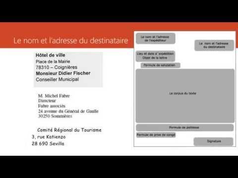 DELF B2 - Writing - Production écrite - Lettre formelle - YouTube