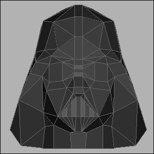 ダースベイダーの展開図 似顔絵 無料 ダウンロード ペーパークラフトファン