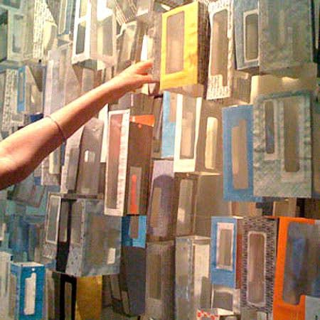 Look!: Security Envelopes as Art | Apartment Therapy