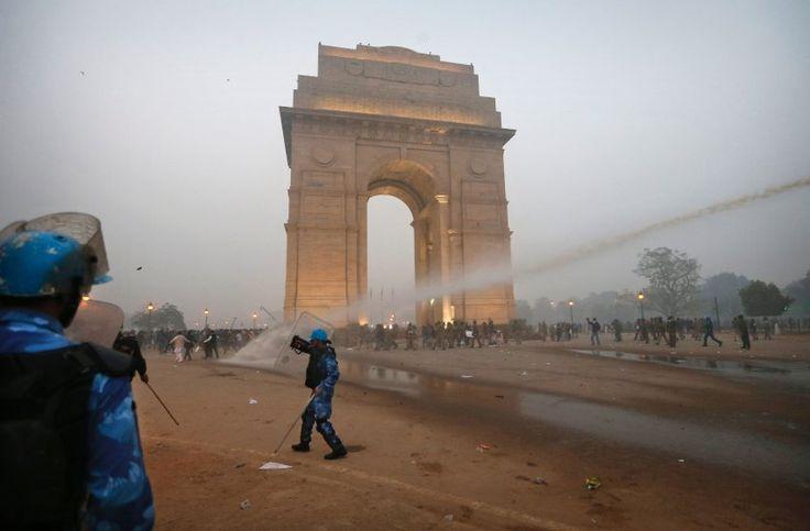 Neu-Delhi Demonstration at the India gate