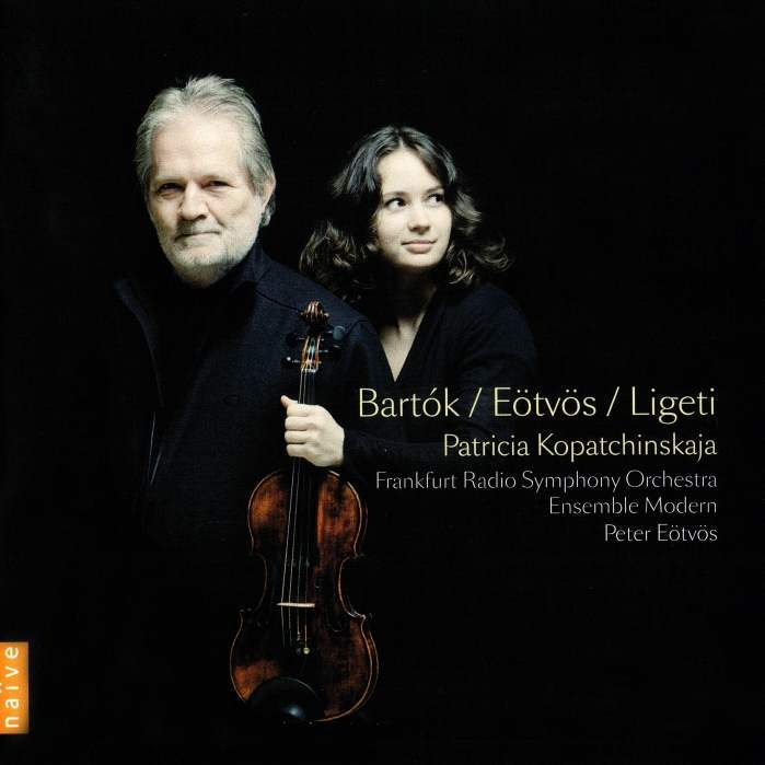 Bartok – Violin Concerto No.2 – Patricia Kopatchinskaja (violin), Frankfurt Radio Symphony Orchestra, Peter Eotvos