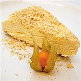 Ananas-cheesecake