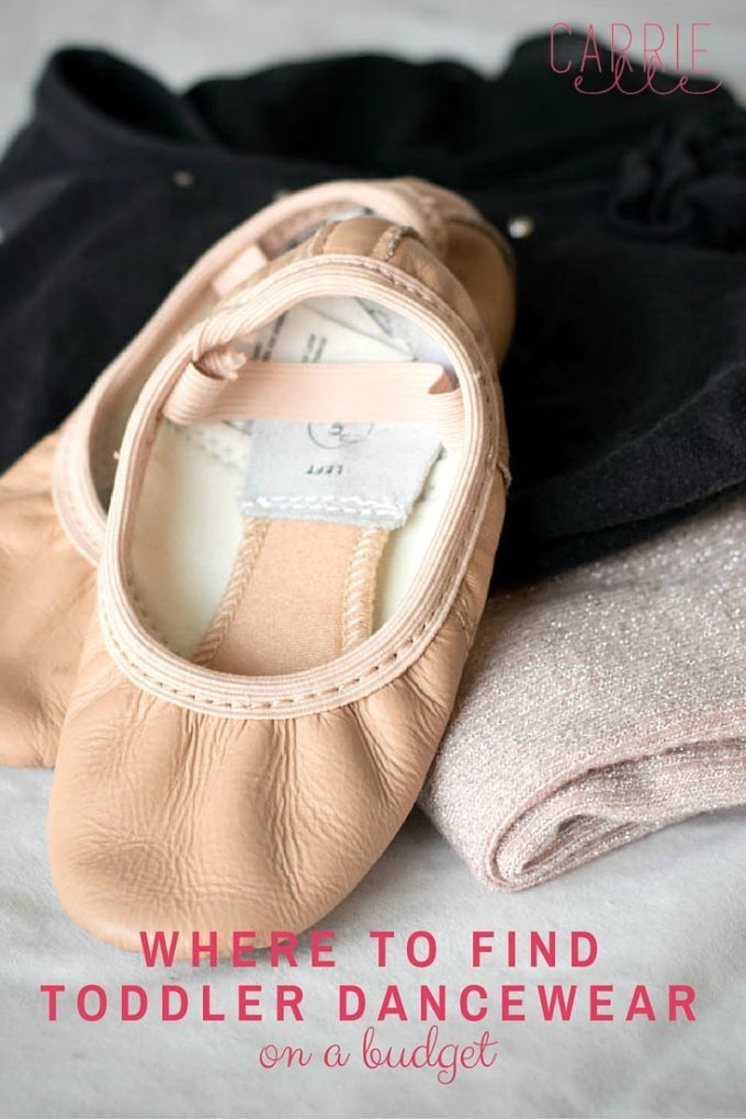 Where to Find Toddler Dancewear on a Budget - www.CarrieElle.com