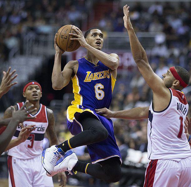 NBA Rumors: Lakers receiving trade offers for Jordan Clarkson, D'Angelo Russell and Julius Randle - http://www.sportsrageous.com/nba/nba-rumors-lakers-receiving-trade-offers-for-jordan-clarkson-dangelo-russell-and-julius-randle/8283/