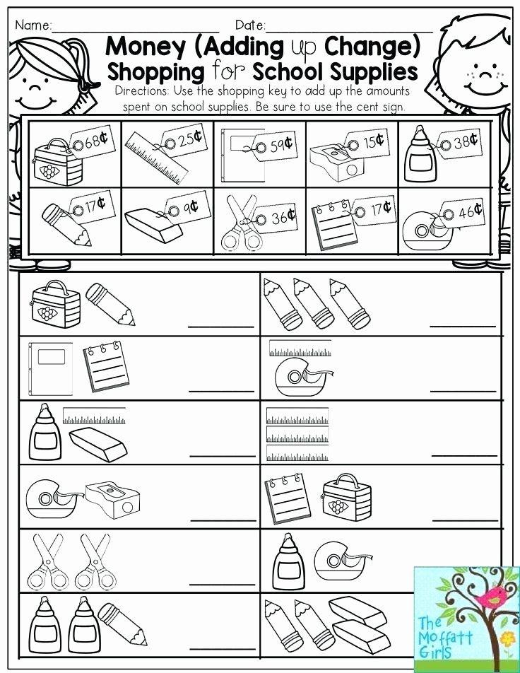 Shopping Math Worksheets Making Change Worksheets 2nd ...