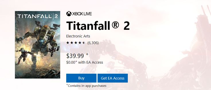 Titanfall 2 is available now on EA access. Subscribers can play the game at no extra cost and enjoy all content introduced since release