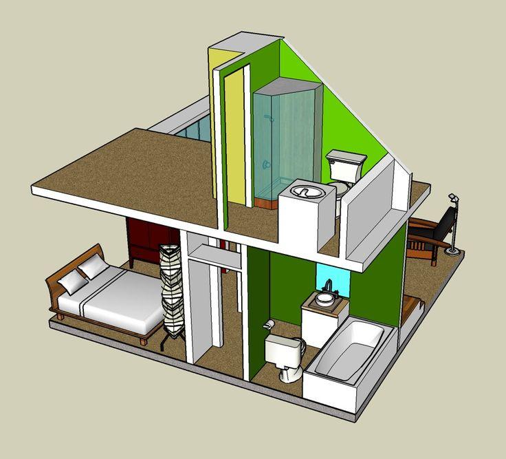 Google House 3D SketchUp @ Http:/