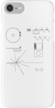 The Voyager Golden Record iPhone 7 Cases