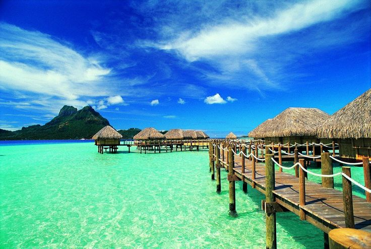 Just imagine you're in Bora Bora when you're shaking and burning at the barre :)