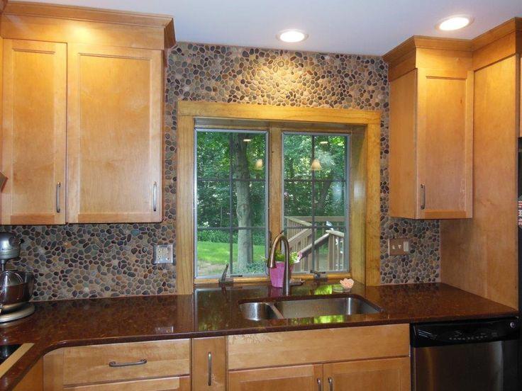 Rustic Tile Kitchen Countertops 120 best backsplash ideas - pebble and stone tile images on
