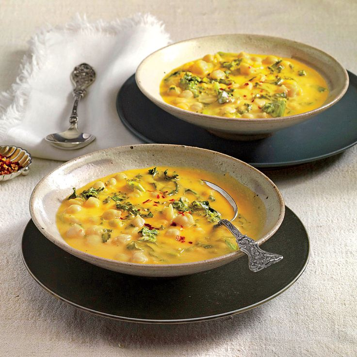 African Chickpea Soup Recipe