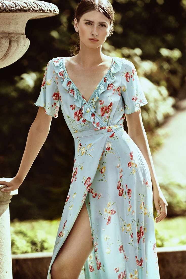 #fashIon #bytimo #ti-mo #vintage #romantic #clothes #norwegian #style #bohemian #spring #summer #webshop #shop #instagram #pattern #embroidery #flowers  #lookbook #clothes #model #dreamy #free #lookbook #light #wrap #dress #blue