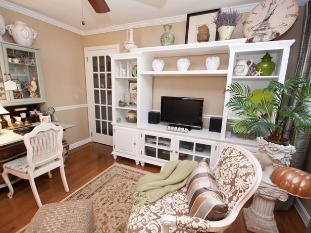 Tropical Living Room With White Entertainment Center WritingEntertainment Centre For