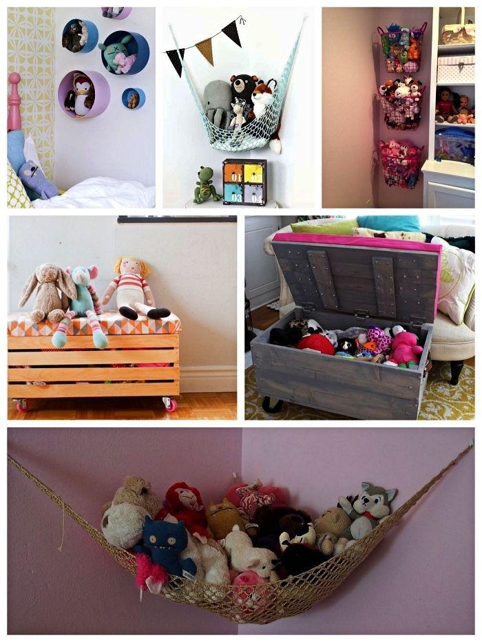 1001 + idées pour réaliser un meuble rangement pour jouets | Rangement jouet, Rangement jouet ...