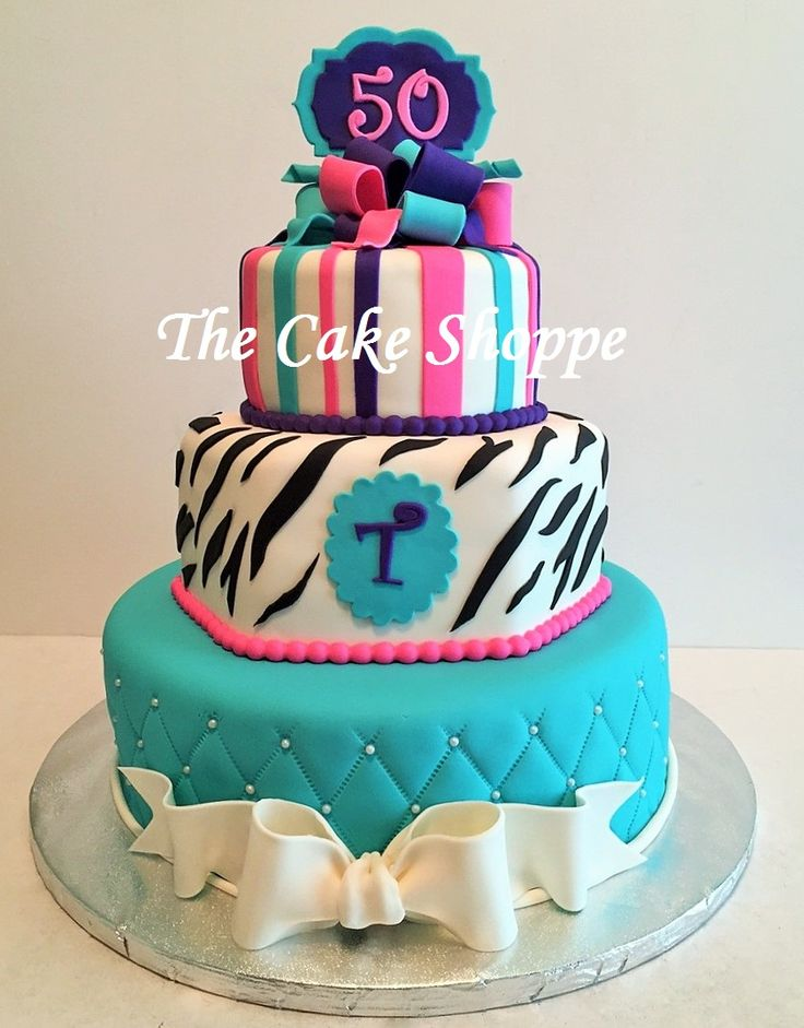 1000+ images about 50th Birthday Cakes on Pinterest ...