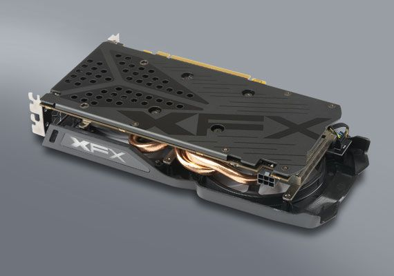 XFX Radeon™ RX 470 RS 4GB with Hard Swap Black Edition ...