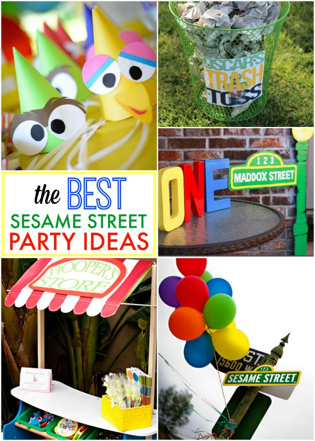 The BEST Sesame Street Party ideas on the web!