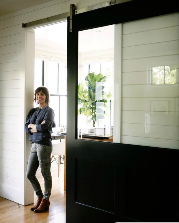 Sliding Door with Window