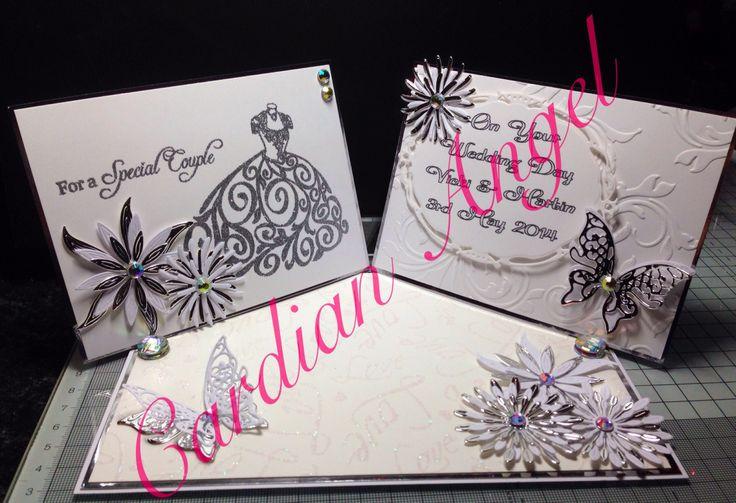 Double Easel Wedding Card