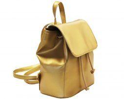 Módny-hit-Leta-2017-Moderný-kožený-ruksak-č.8659-v-zlatej-farbe-2