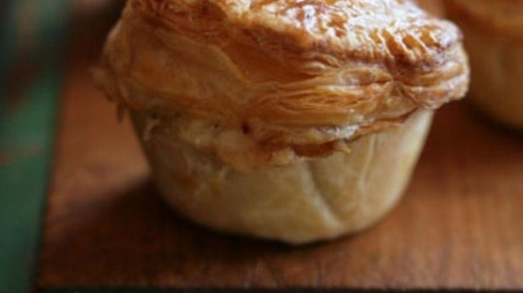 Small scallop party pie- Australian recipe