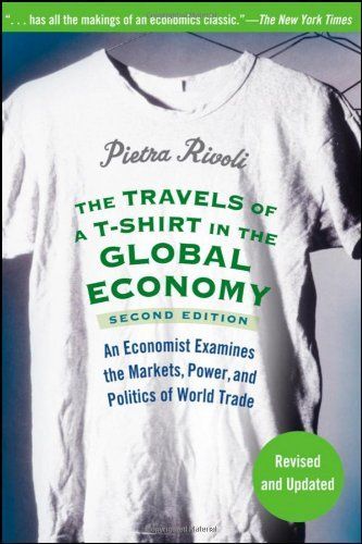 The Travels of a T-Shirt in the Global Economy: An Economist Examines the Markets, Power, and Politics of World Trade $11.32 really good book and there is a documentary...amazing and a definite before donating again to impoverish third world countries