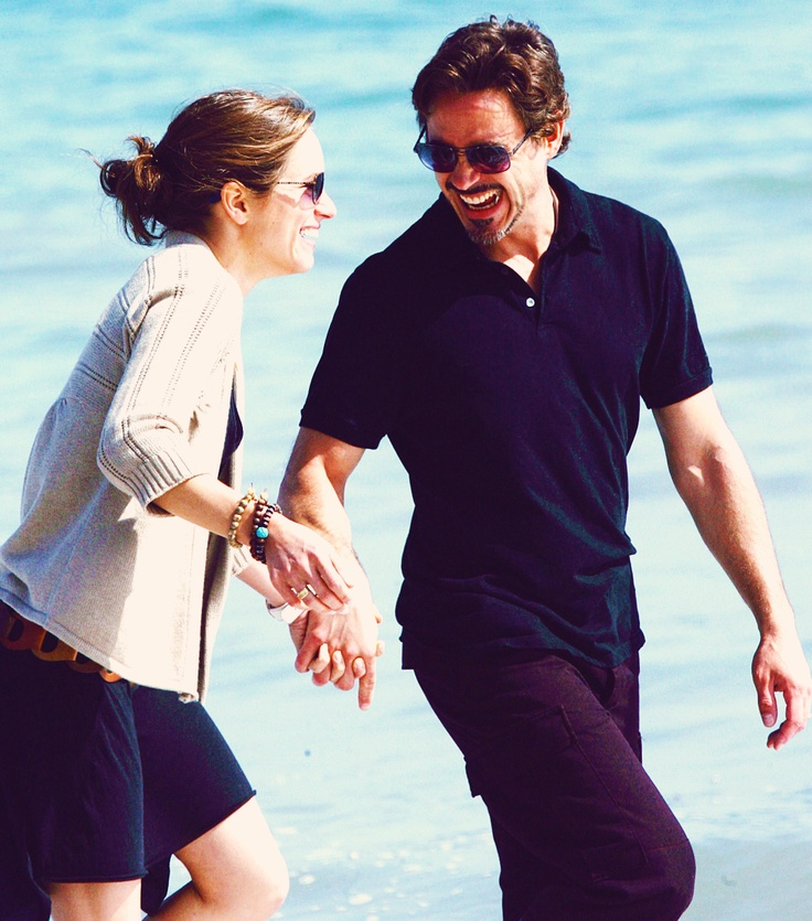 Robert downey jr. and Susan (wife)