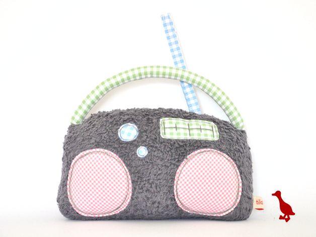 Spieluhren - Lovemag Spieluhr Radio mit Wunschmelodie - ein Designerstück von tildemor bei DaWanda