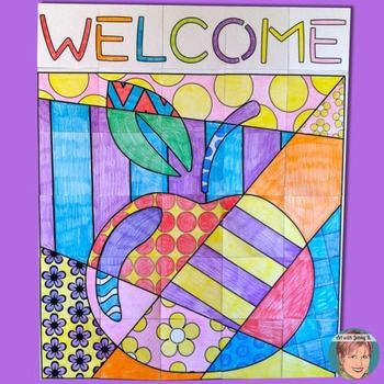 Open House / Back to School Night Welcome Poster   by Art with Jenny K
