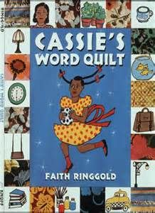 Amazon Cassies Word Quilt Avenues 9780553112337 Faith Ringgold Books