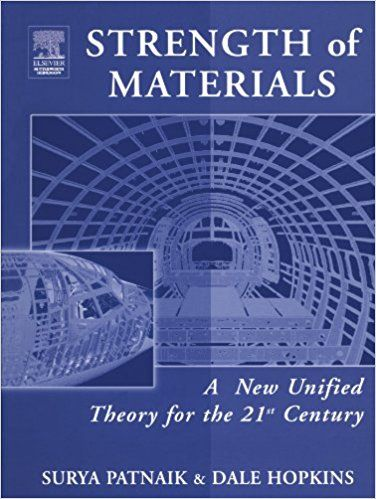 """Title: Strength of materials by Surya Patnaik and Dale Hopkins File Type: PDF Publisher: ElsevierAbout """"Surya Patnaik and Dale Hopkins Strength of Materials"""":Strength of materials by Surya Patnaik and Dale Hopkins combines existing theories with"""